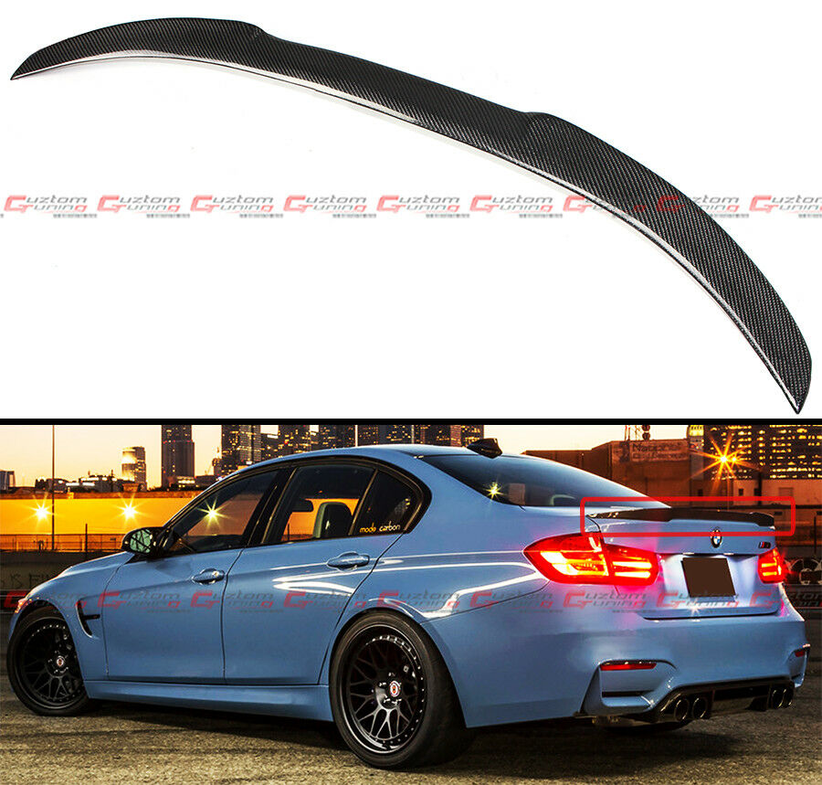 2012-2016 BMW F30 3 Series 335i 328i Carbon Fiber M4 Look