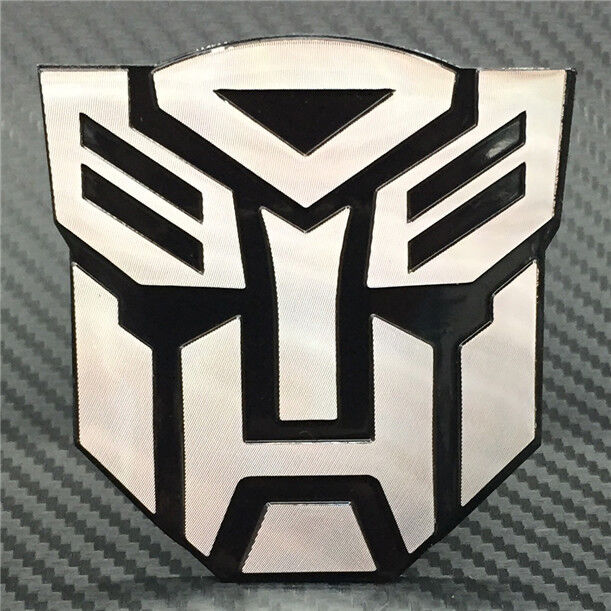 3D Personality Transformers Auto Logo Car Sticker Metal