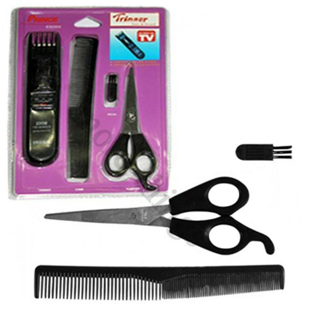 travel edge hair beard trimmer with accessory set personal care products ebay. Black Bedroom Furniture Sets. Home Design Ideas