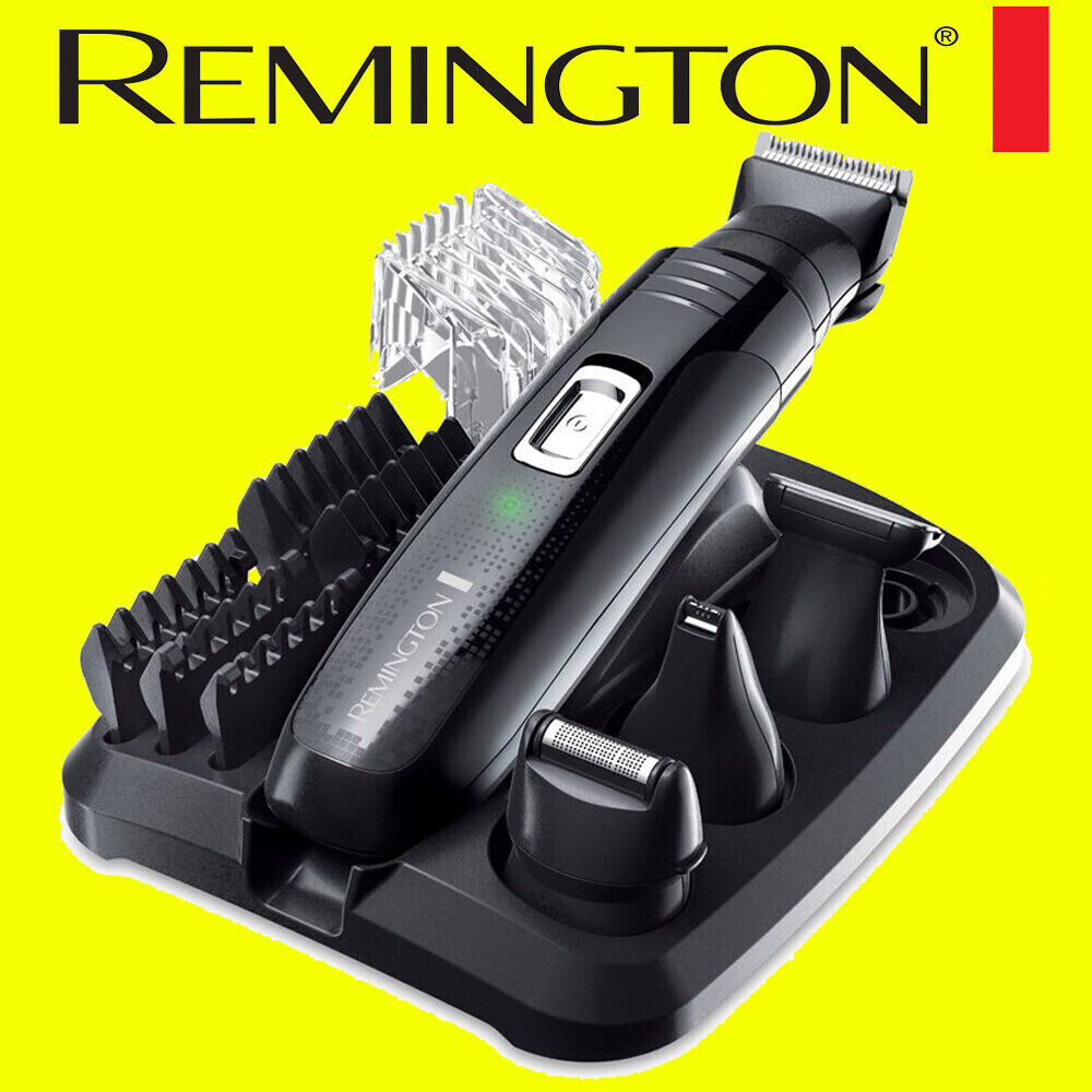 remington pg6130 mens rechargeable 4 in 1 personal groomer kit trimmer clipper ebay. Black Bedroom Furniture Sets. Home Design Ideas