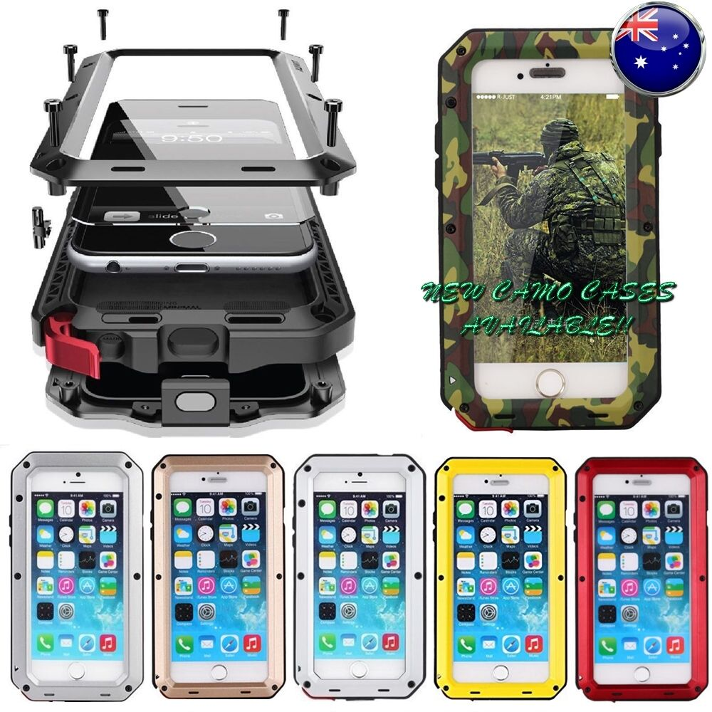 iphone bumper case heavy duty shockproof bumper metal cover iphone 11665