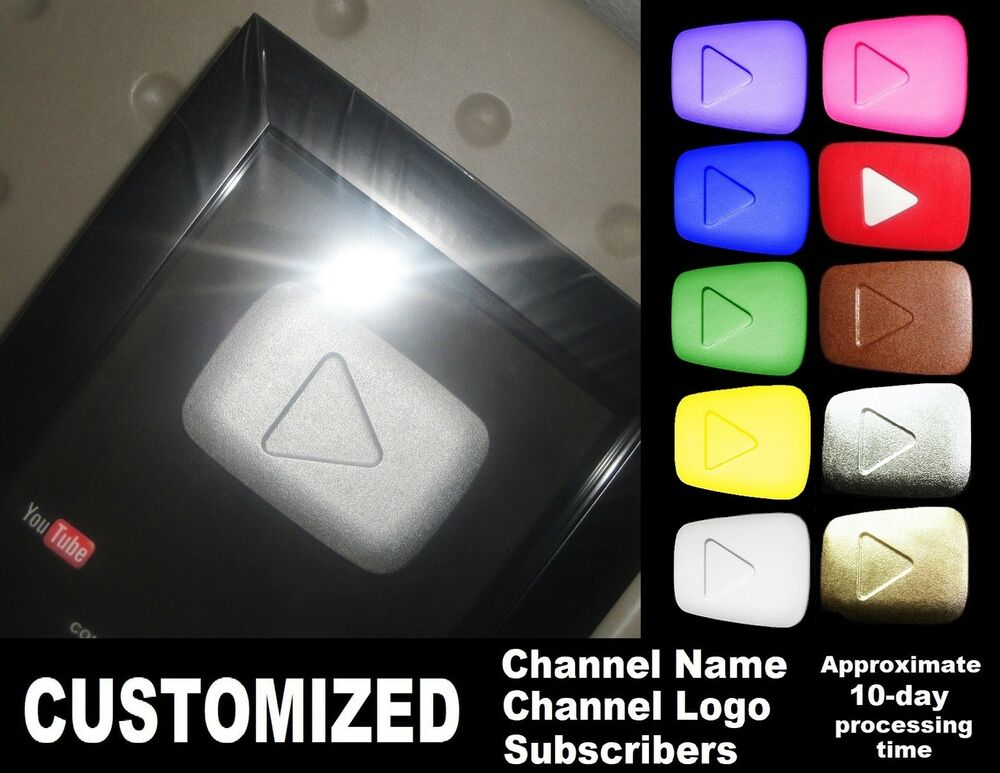 Gold Silver Bronze Youtube Replica Playbutton Award Fake