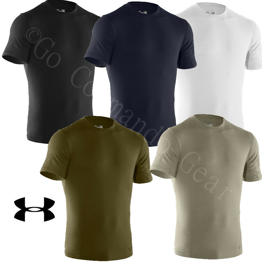 Under Armour Tactical T Shirt Charged Cotton Tee Heatgear