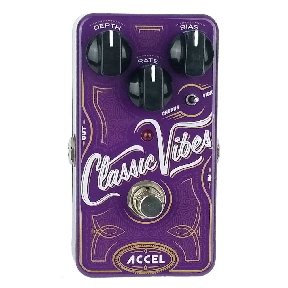 uni vibe guitar effects pedal accel classic vibes 720260696514 ebay. Black Bedroom Furniture Sets. Home Design Ideas