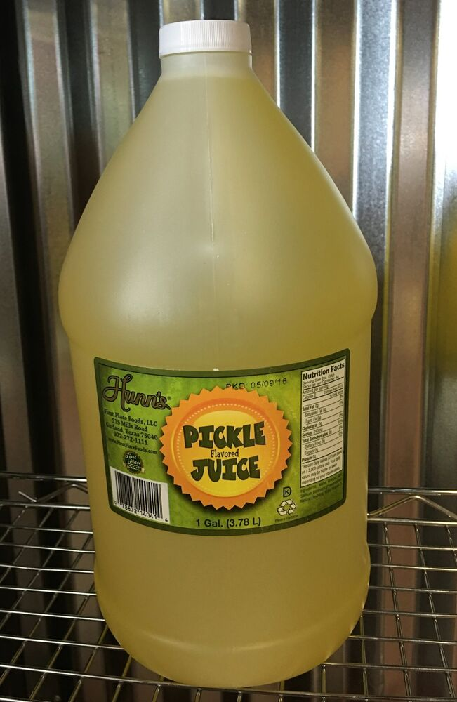 Pickle Juice Pickleback Shot Brine Back Shooter 1 Gallon