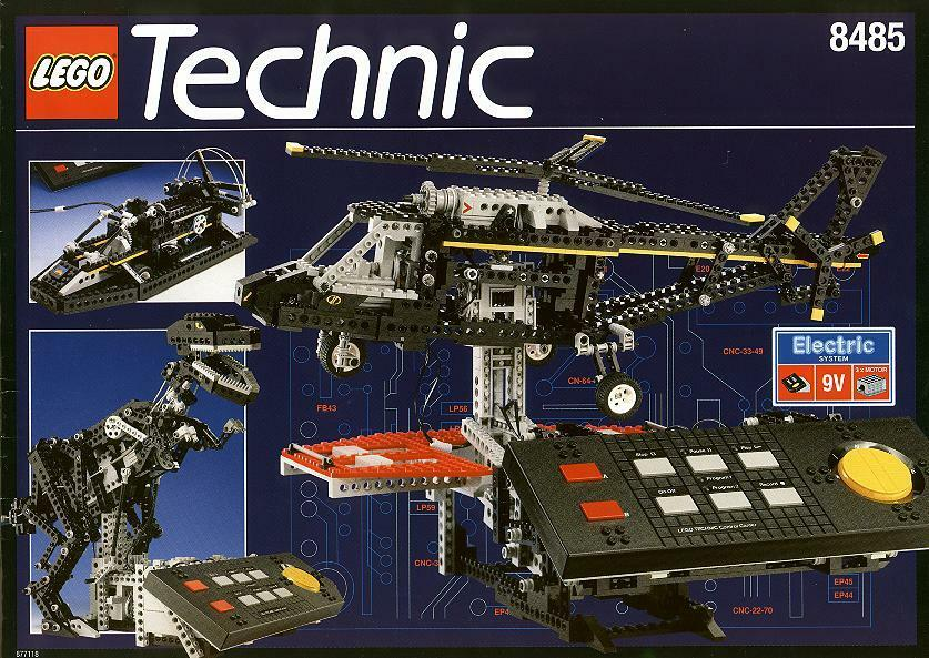 lego technic universal building 8485 control center ll new. Black Bedroom Furniture Sets. Home Design Ideas