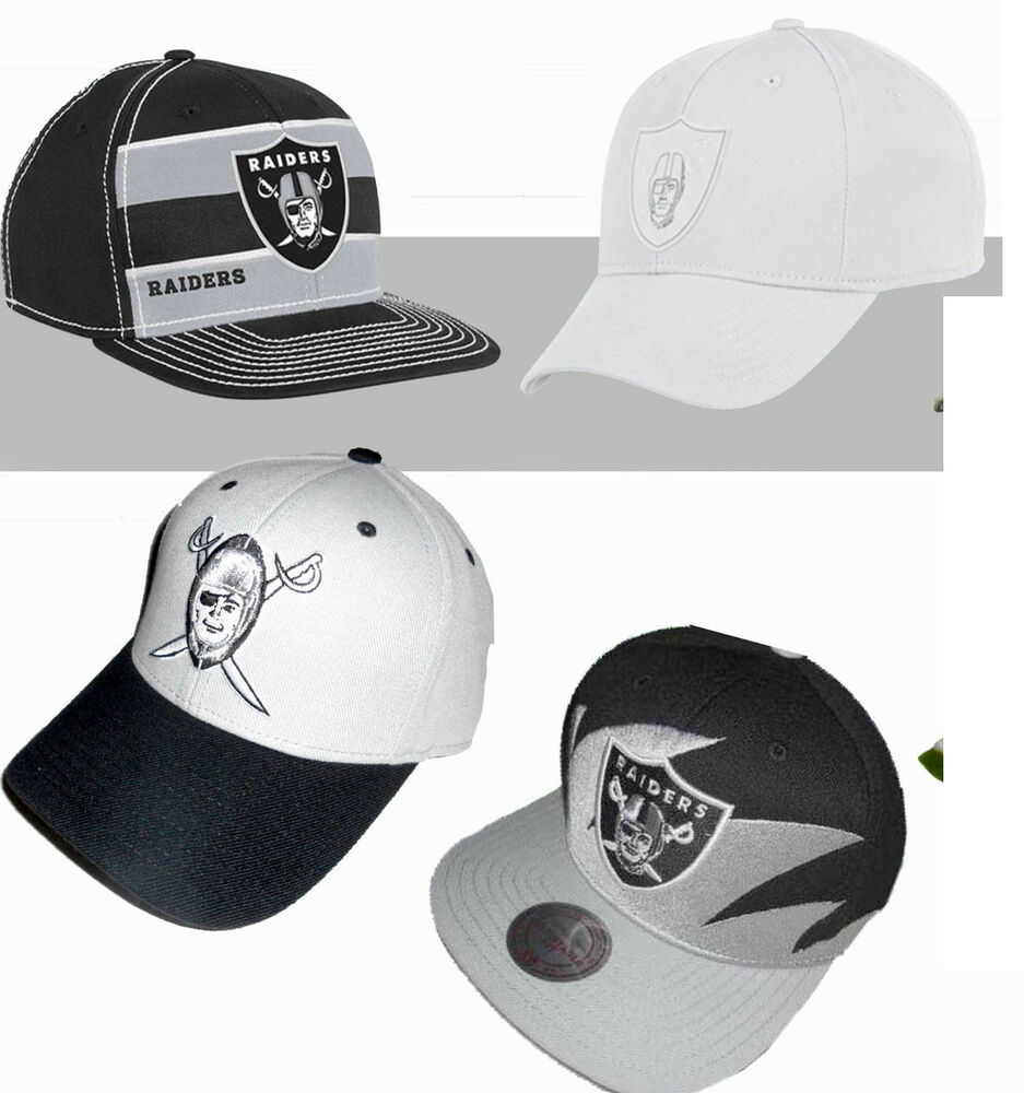 79483e29 OAKLAND RAIDERS VINTAGE MITCHELL & NESS DEAD STOCK RARE SHARKTOOTH SNAPBACK  HAT | eBay