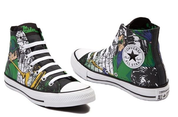 Catwoman Converse Shoes