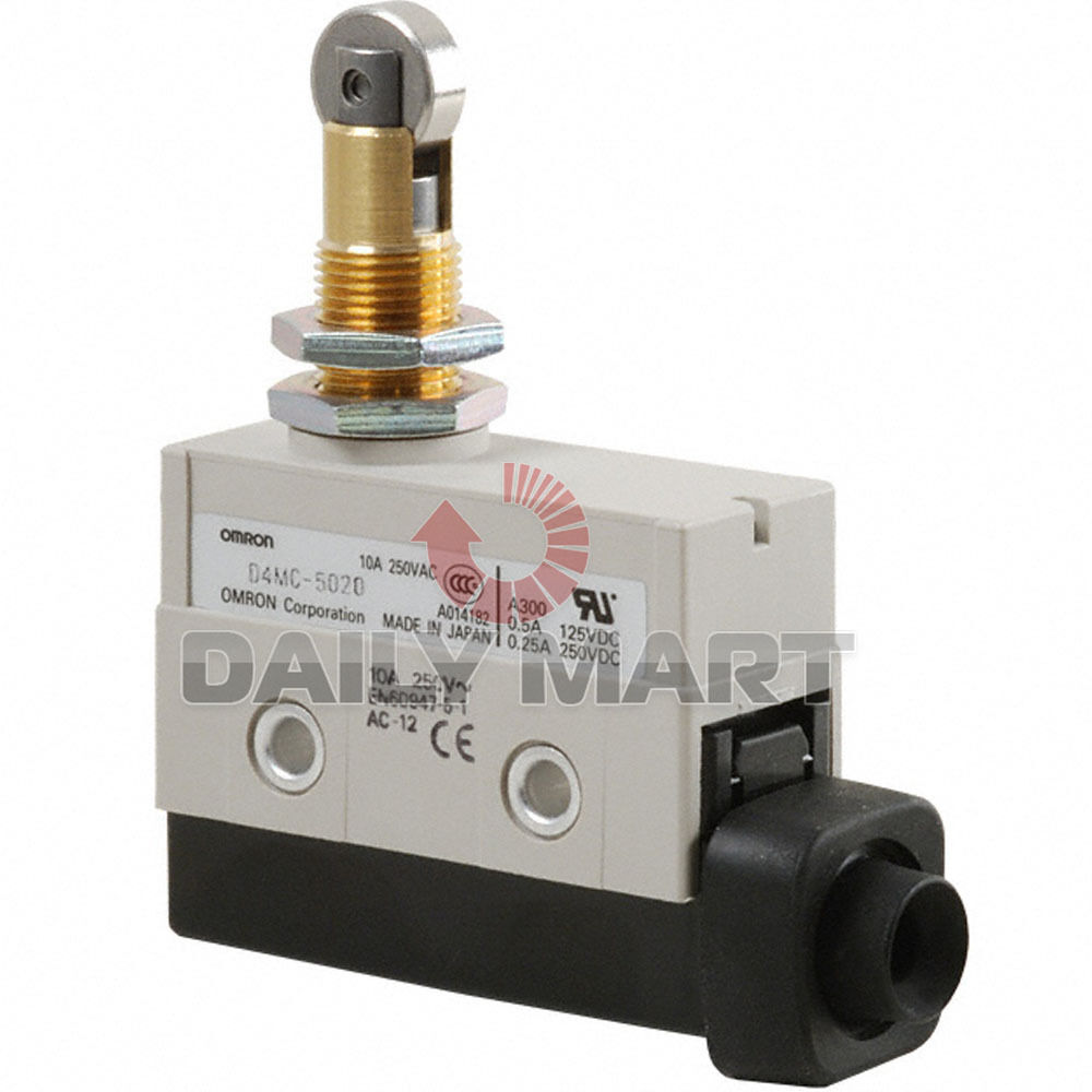 16new Omron D4mc 5020 Enclosed Limit Switch Spdt Roller