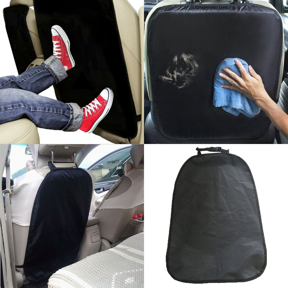 luxury kids kick mats car seat back protector case cover keep your seats clean ebay. Black Bedroom Furniture Sets. Home Design Ideas