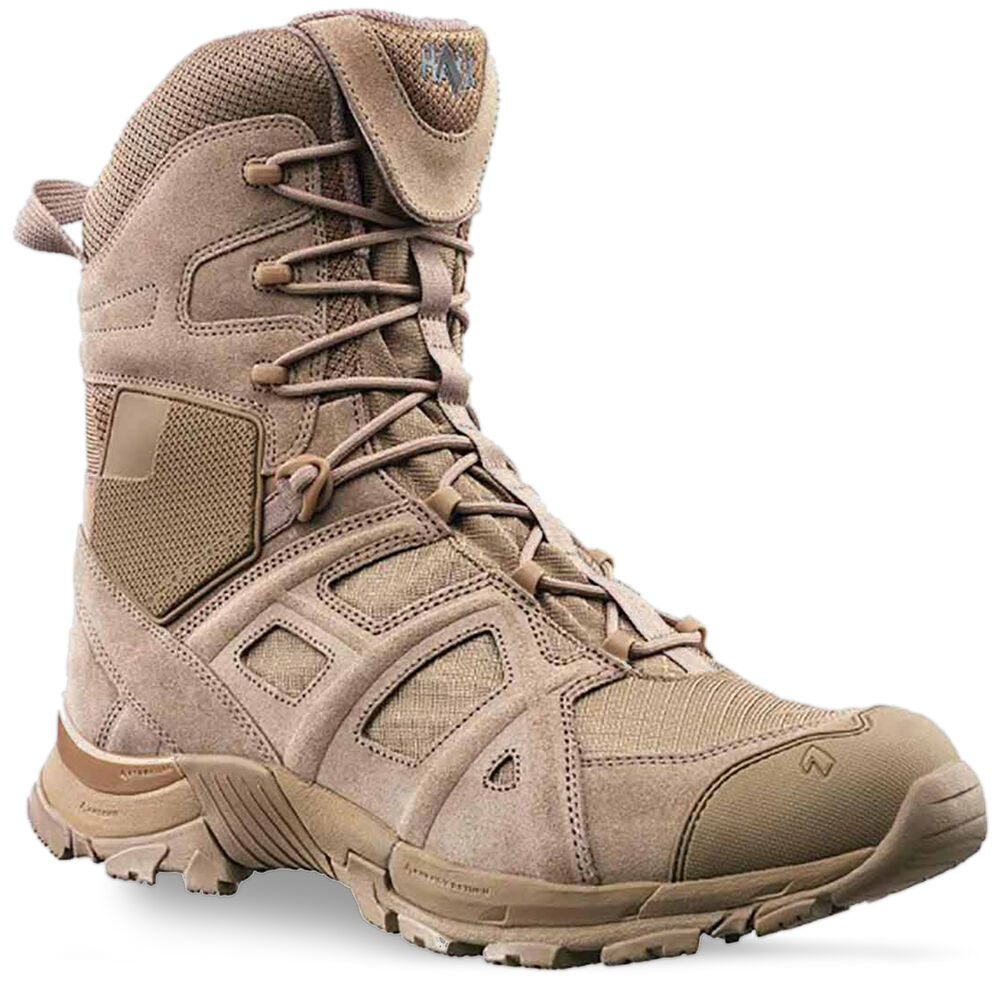 Haix Black Eagle Athletic 11 High Side Zip Army Military