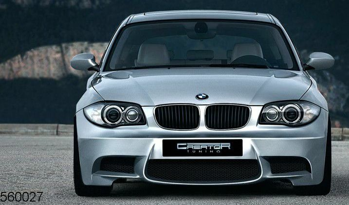 bmw e81 e87 1 series m look body kit ebay. Black Bedroom Furniture Sets. Home Design Ideas