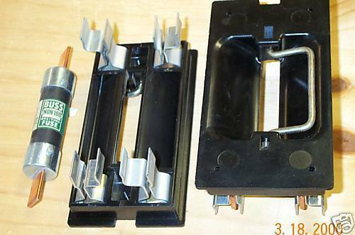 Square D Fsp 100amp Main Fuse Pullout Fuse Holder Ebay