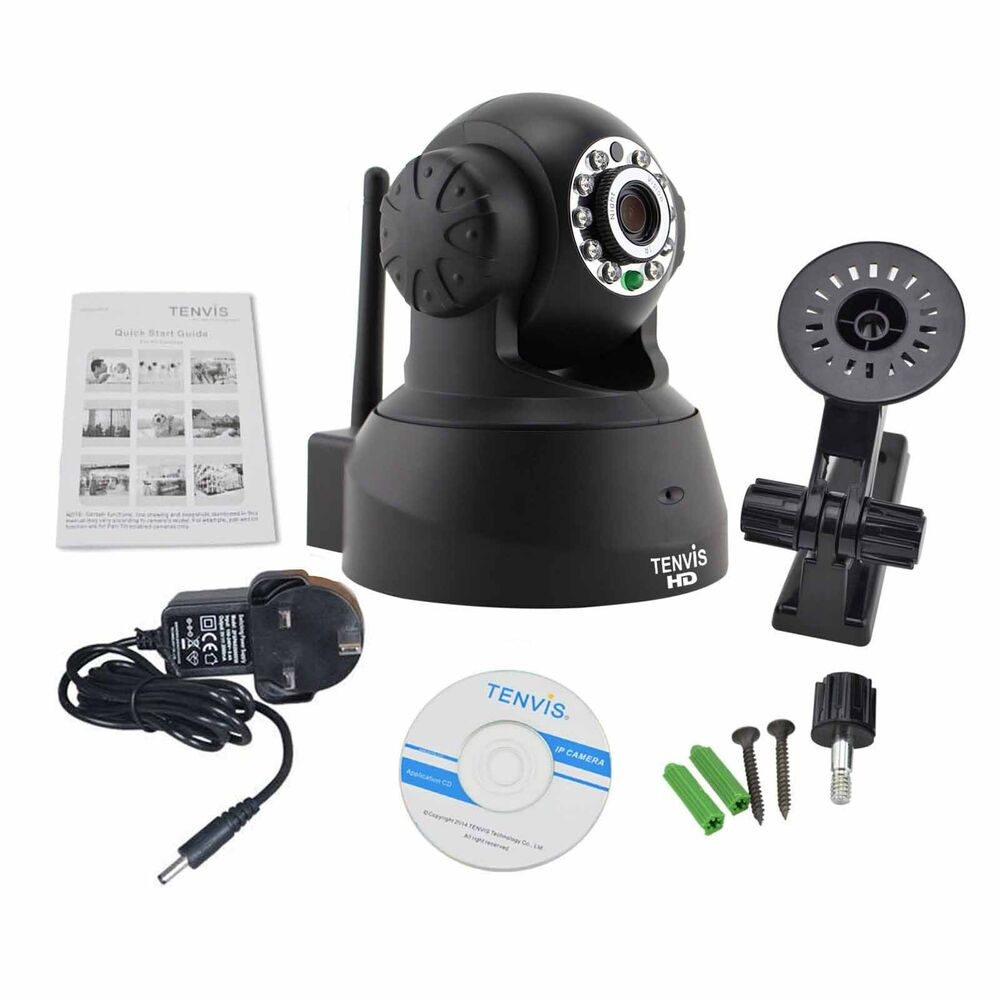 Tenvis 720P HD Wireless WiFi IP Camera Home Security ...