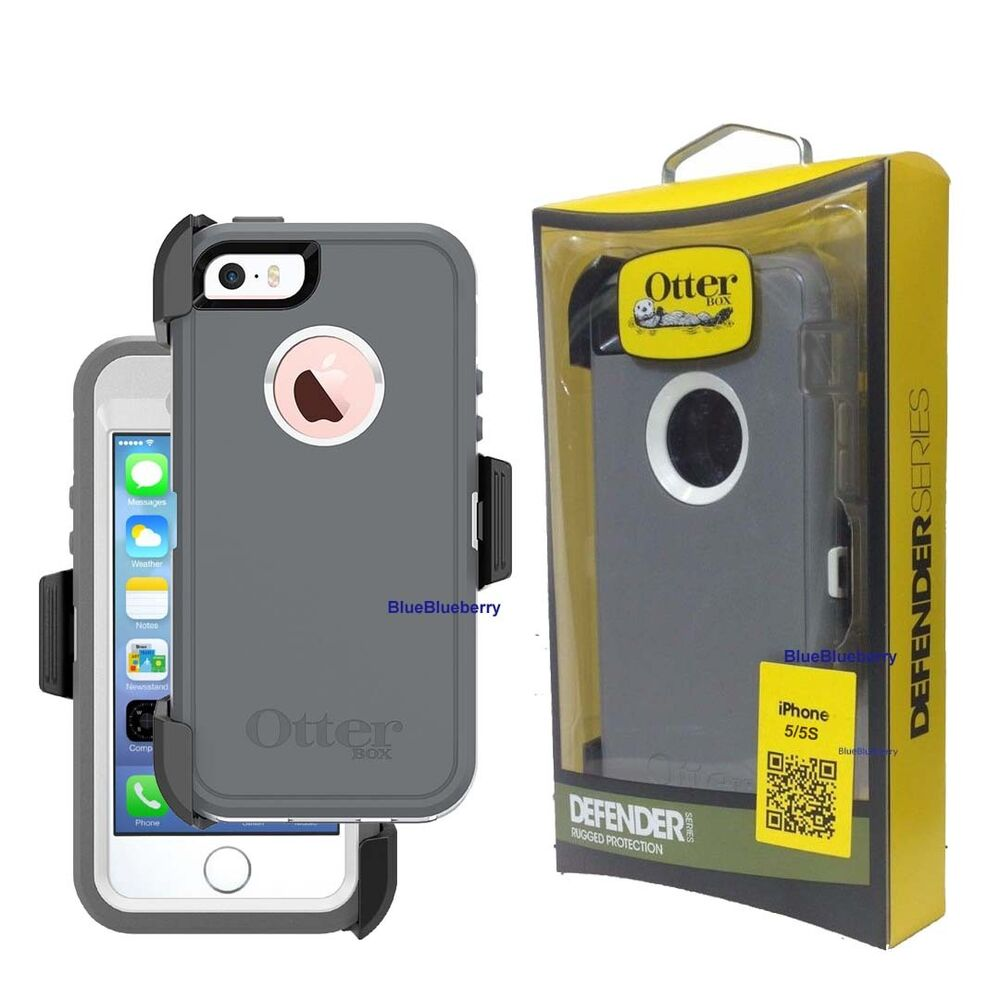 otterbox defender iphone 5s new otterbox defender rugged w holster belt clip 15804