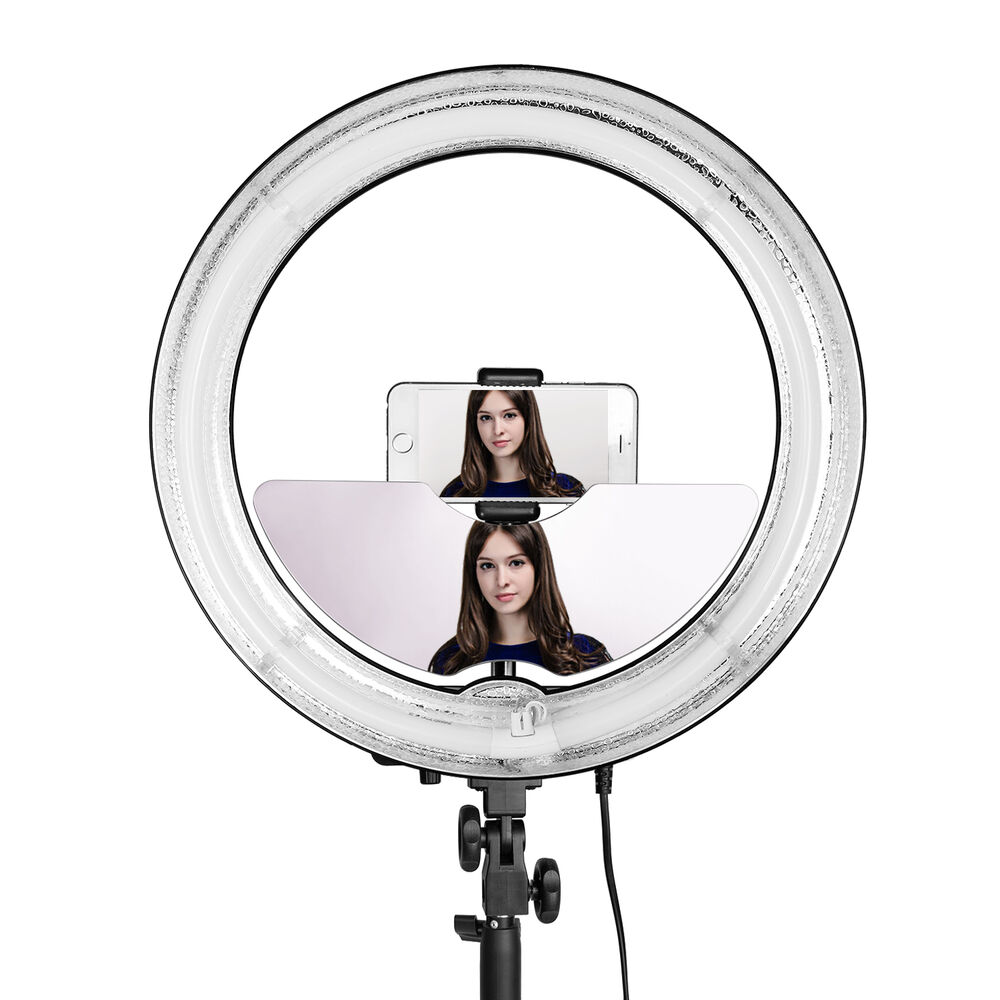 Neewer Ring Light Accessories Mirror Smart Phone Holder