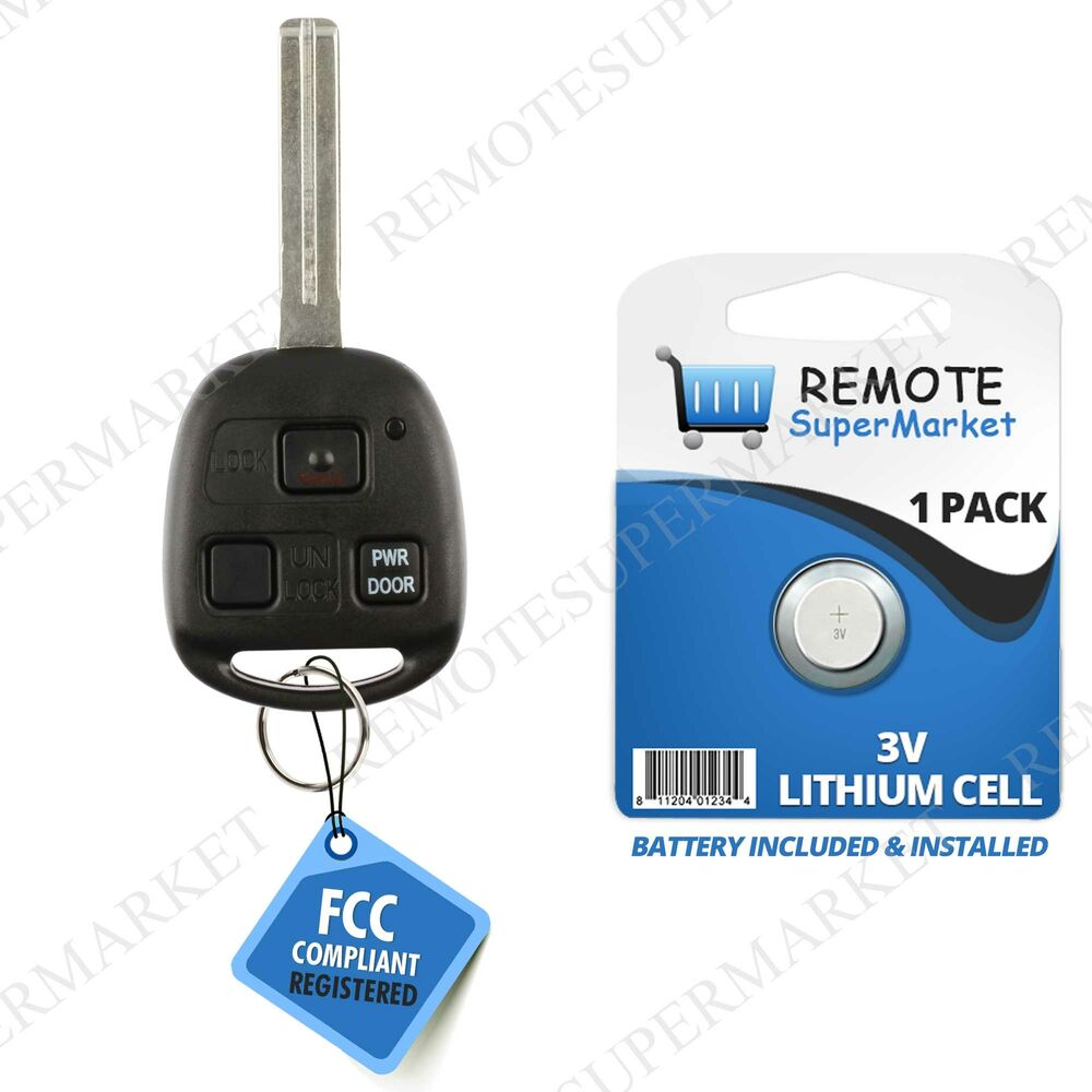 Nissan Key Fob Replacement >> Replacement for Lexus 2004 2005 2006 RX330 2007 2008 2009 RX350 Remote Key Fob | eBay