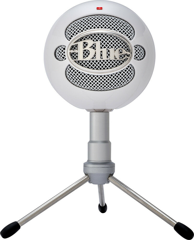 blue microphones snowball ice usb microphone white ebay