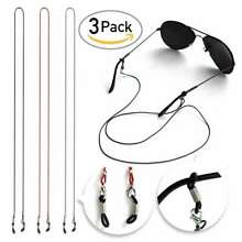 3pcs 27''PU Glasses Strap Chain Neck Lanyard 70cm for Sports&Reading Keeper
