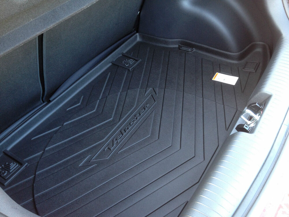 2012 2017 Hyundai Veloster Trunk Cargo Tray Mat Liner With