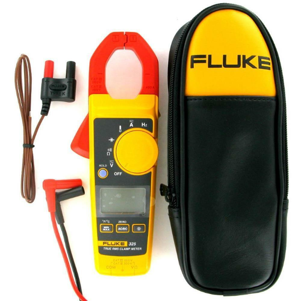 Clamp On Multimeters Current Probes : Fluke true rms clamp meter ebay