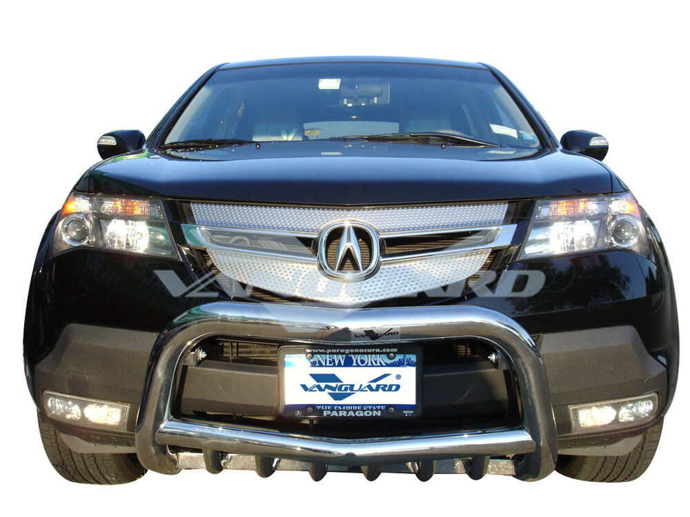 wiring schematic diagram on vanguard 07-09 acura mdx front bumper  protector guard bull bar s/s on