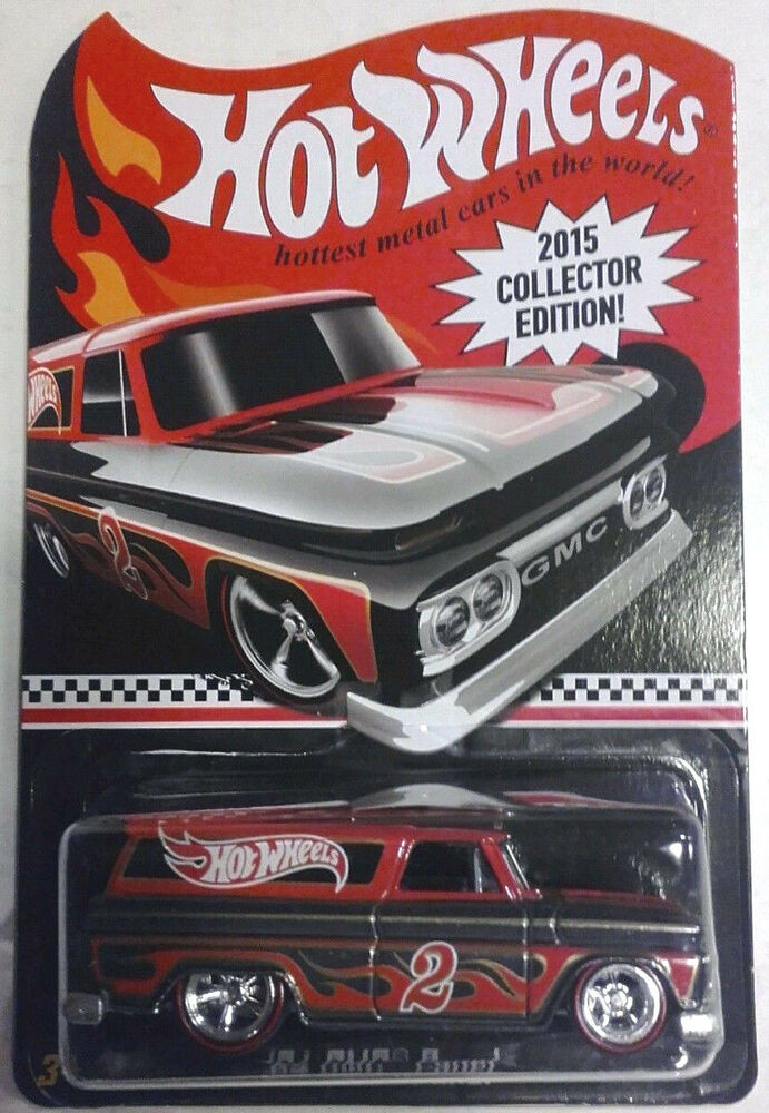 1/64 2015 HOT WHEELS COLLECTORS EDITION MAIL AWAY GMC