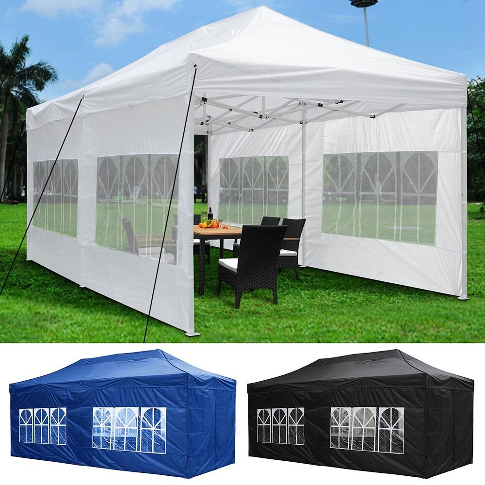 10 X20 Outdoor Ez Pop Up Canopy Wedding Party Tent W