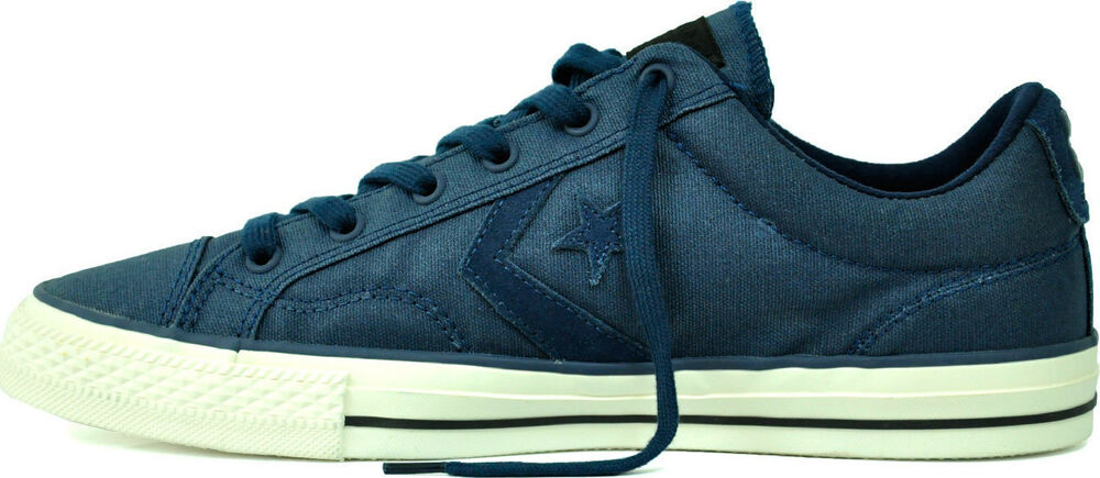 cheap for discount 30e13 80c4f Details about NEW CONVERSE STAR PLAYER OX Classic Vintage MENS Nighttime  Navy NIB