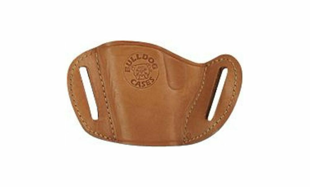 bulldog gun holsters tan bulldog leather owb belt gun holster for smith 390