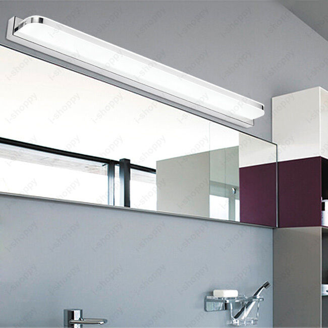 LED Mirror Front Lamp Wall Fixture Sconces Light Living Room Bathroom Lighting eBay