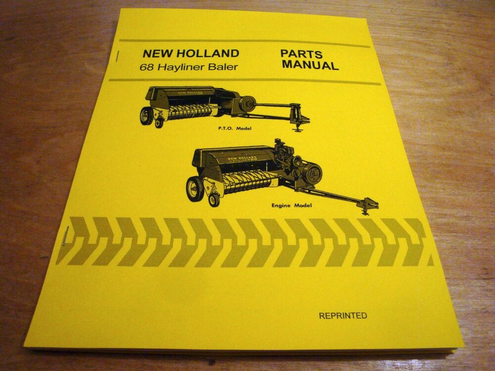 New holland 450 baler owners manual new holland 278 square baler owners manual pdf 73 pages 380 33 array new holland 68 hay baler hayliner parts catalog book list manual nh rh ebay fandeluxe Gallery
