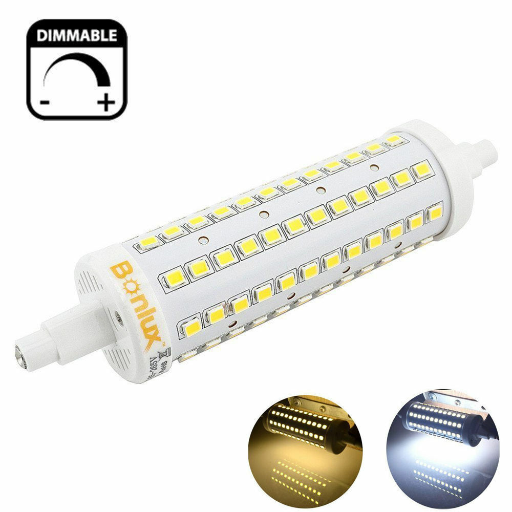 10w r7s led dimmable light bulb 118mm j type double ended for R7s 150w led