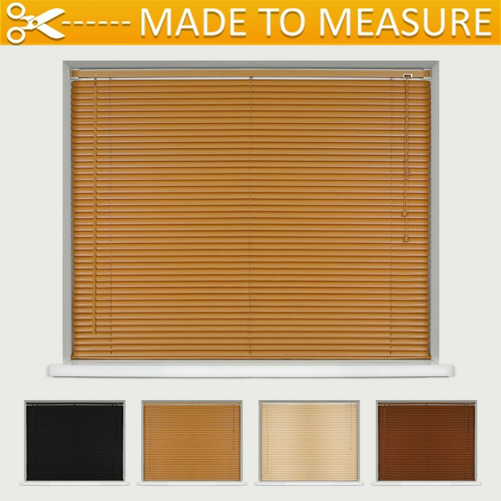 Made To Measure Wood Effect Pvc Venetian Blinds Many