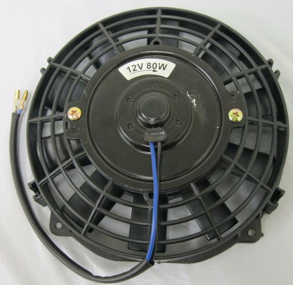 7 Quot Inch Universal Electric Radiator Cooling Fan Straight