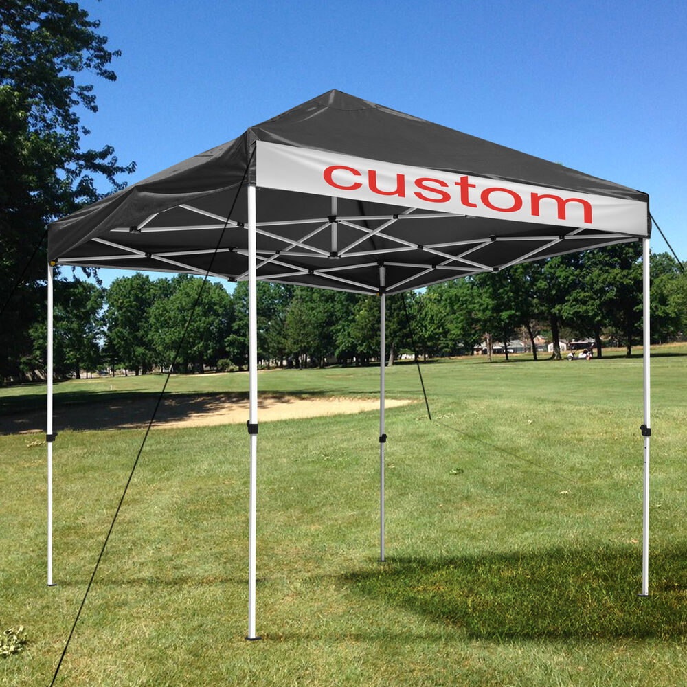 Ez Pop Up Canopy Commercial Tent Sun Shade Shelter W Carry