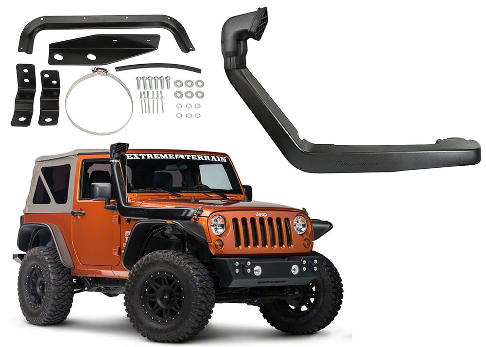 Air Ram Intake System Snorkel Kit For 2007 2016 Jeep