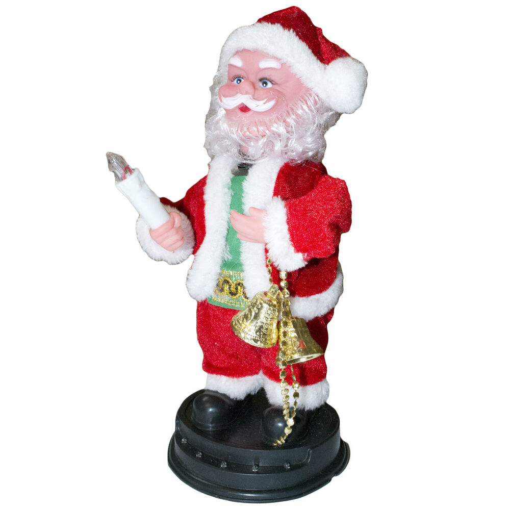 Santa Claus Decorations Uk: Musical Dancing Singing Santa Novelty Christmas Xmas