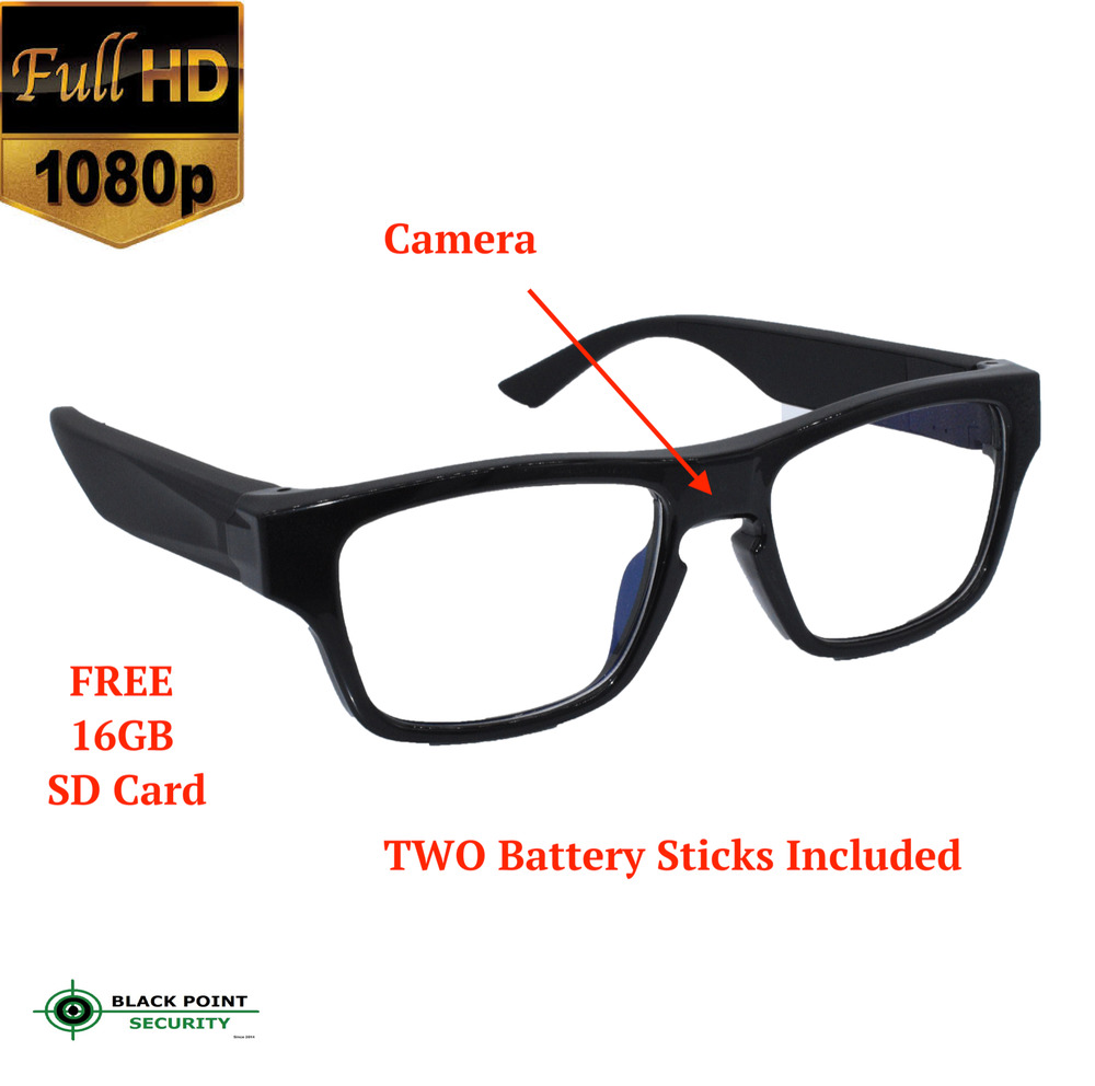 1080p Extra Long Power Reading Glasses Type Hidden Spy ...