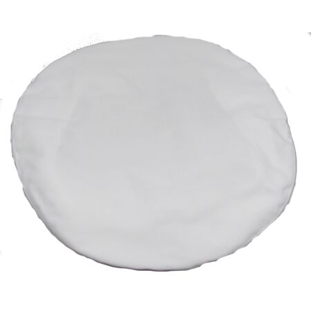 img-Royal Navy Cap Cover,White Cotton,RN,Headwear,Will fit 10.5 inch wide Top R1741