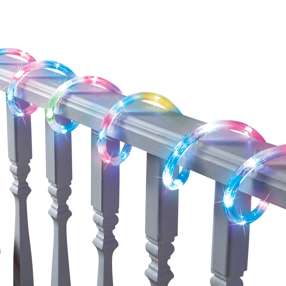 Color Changing LED Rope Light, by Collections Etc eBay