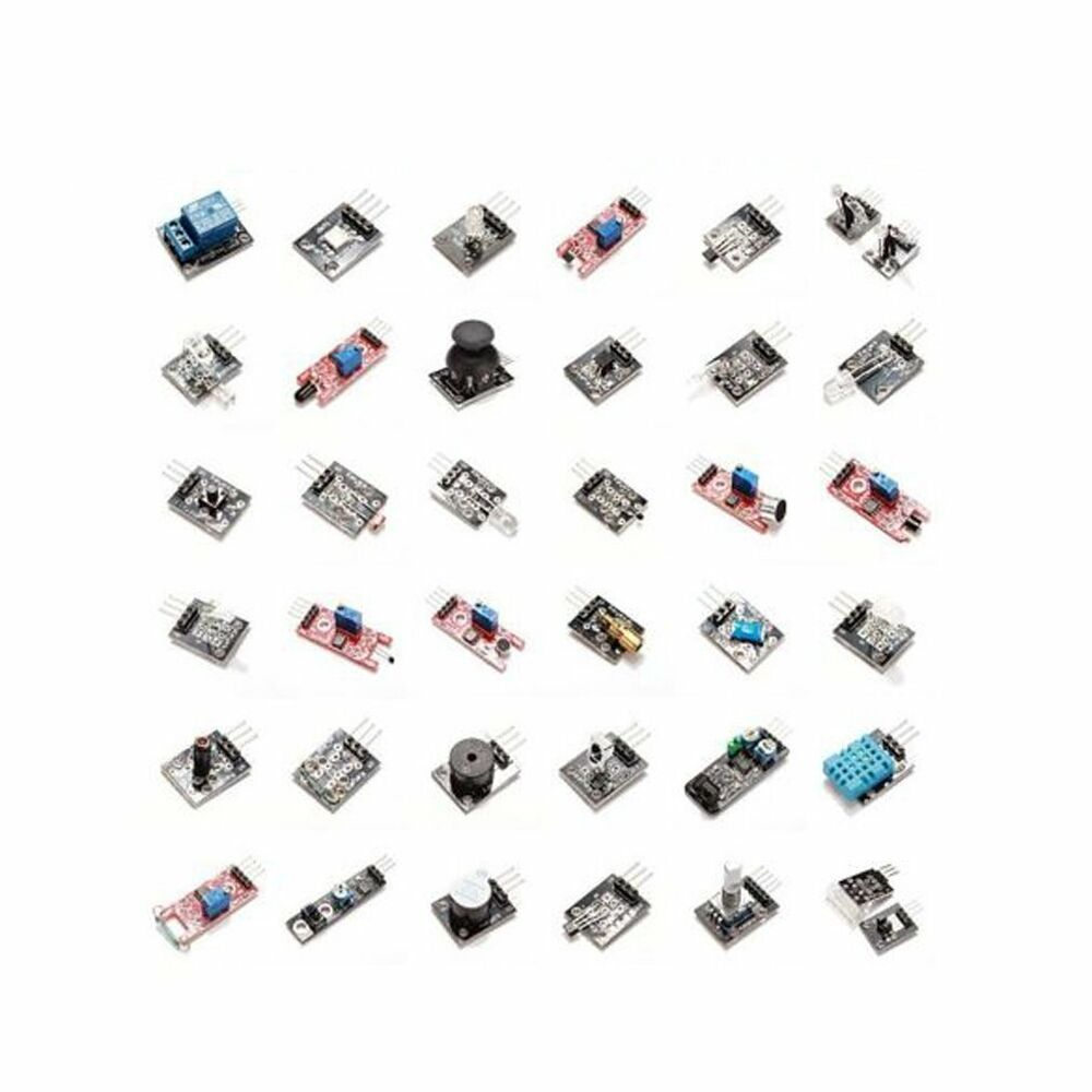 Sensors assortment kit in sensor module starter