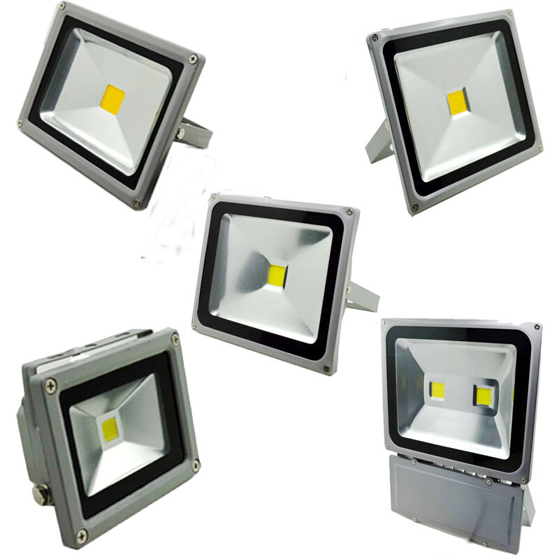 glw 10w 20w 30w 50w 100w led flood light white outdoor. Black Bedroom Furniture Sets. Home Design Ideas