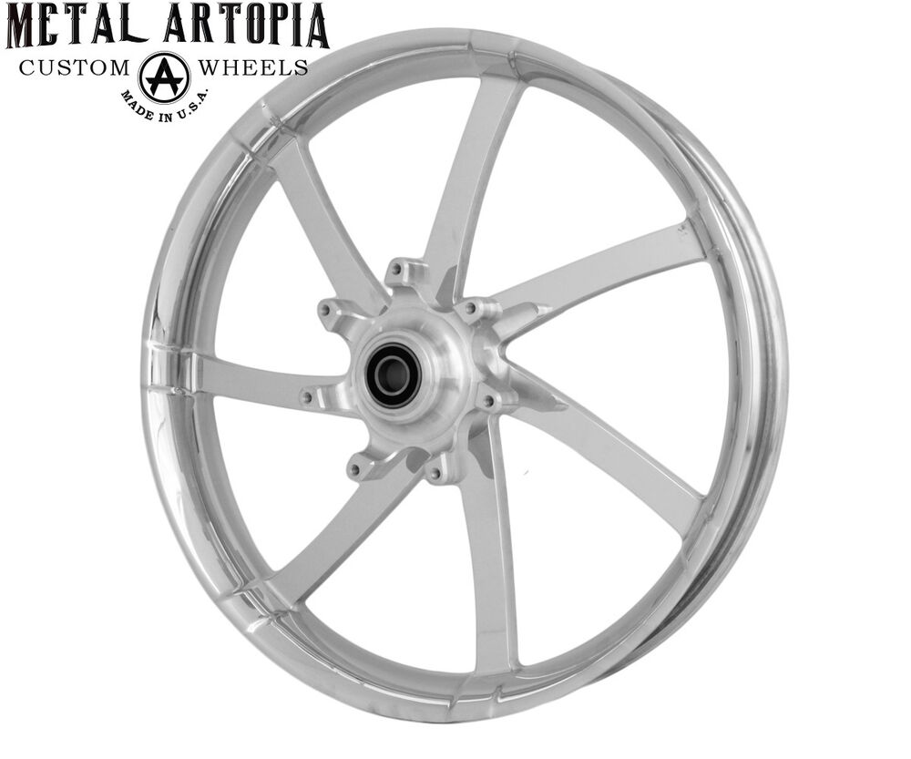 26 Inch Motorcycle Rims : Quot inch maw custom motorcycle agitator wheel for