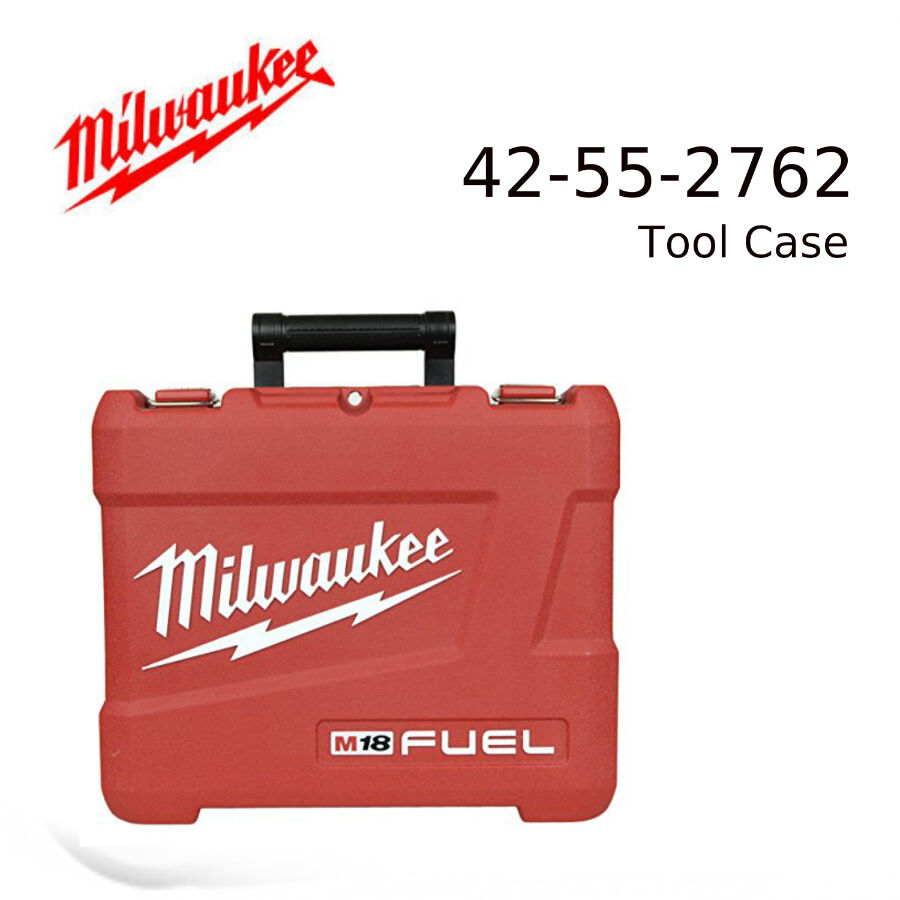 Milwaukee 42 55 2762 Plastic Carrying Case For 18v Fuel