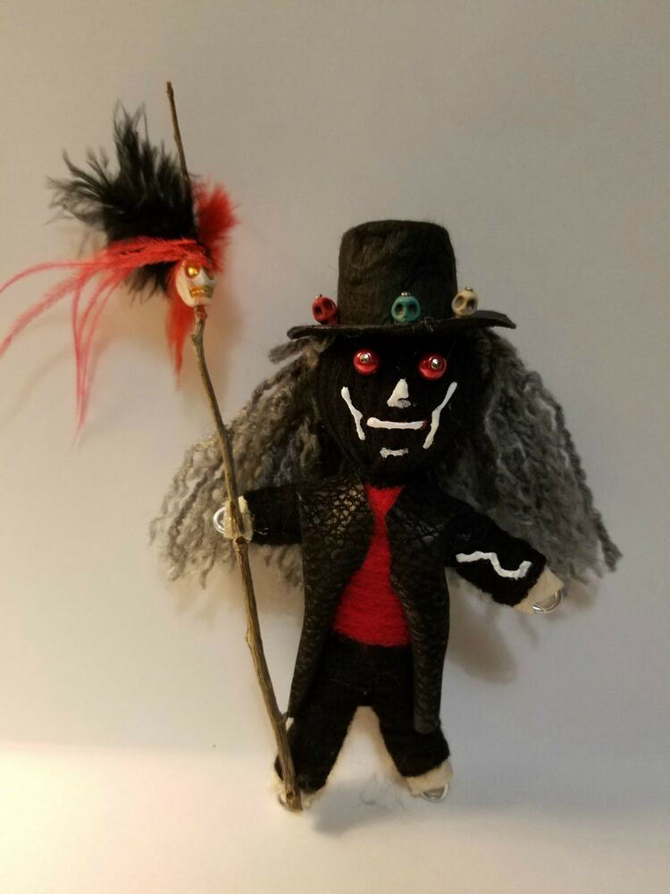 Papa Legba Authentic Voodoo Dolls real 7 pins guide new ...