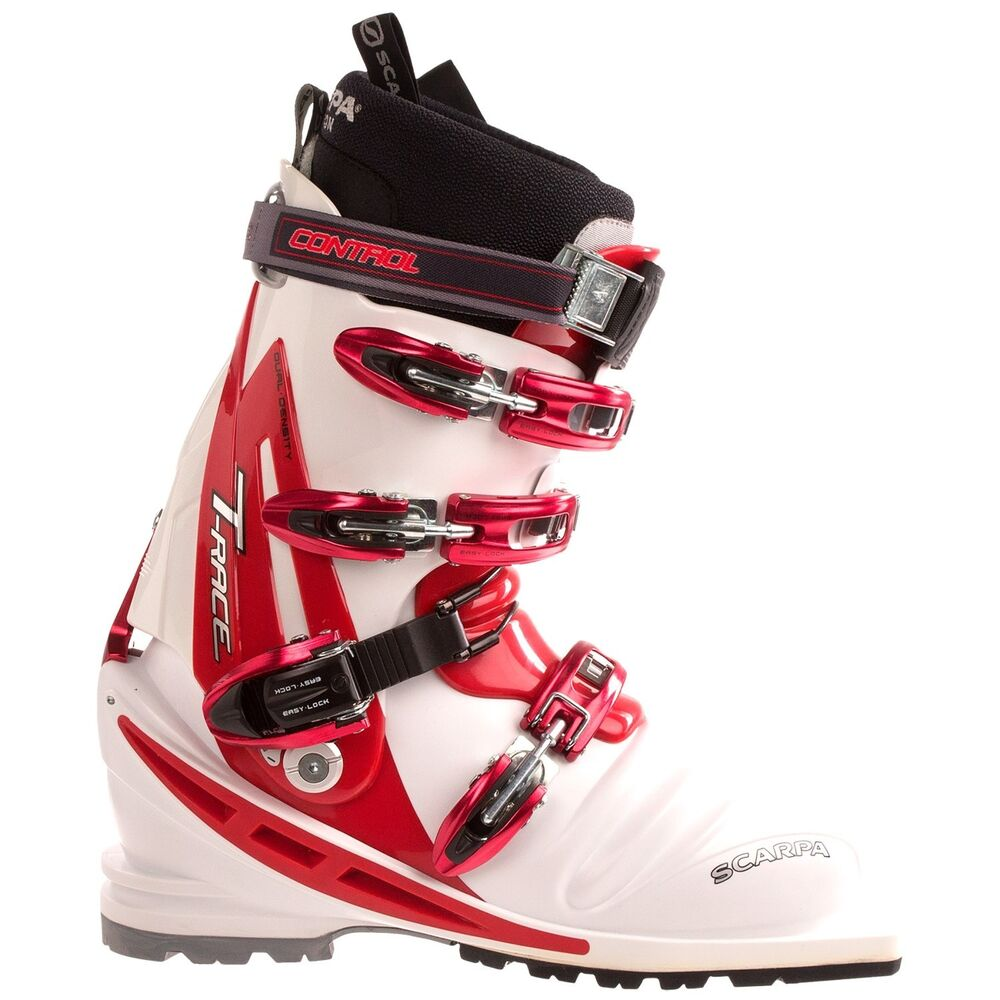 Scarpa t race telemark ski boot white size mondo 23 0 for Mondo scarpa catalogo