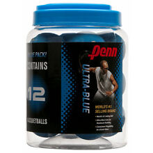 Penn Ultra Blue Jug of 12 Racquetballs