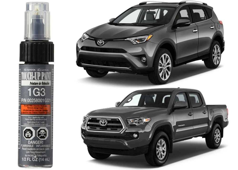 Genuine toyota 00258 001g3 21 magnetic gray 1g3 touch up for Toyota paint touch up pen