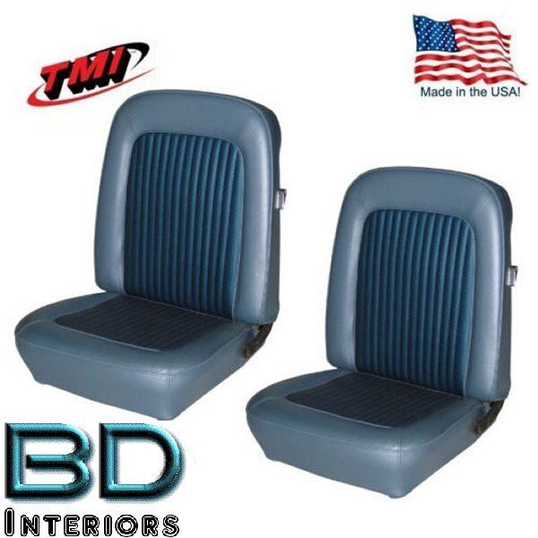Ford Bronco Car Covers >> 1968 - 1977 Ford Bronco Replacement Seat Upholstery - Front & Rear, Made in USA | eBay